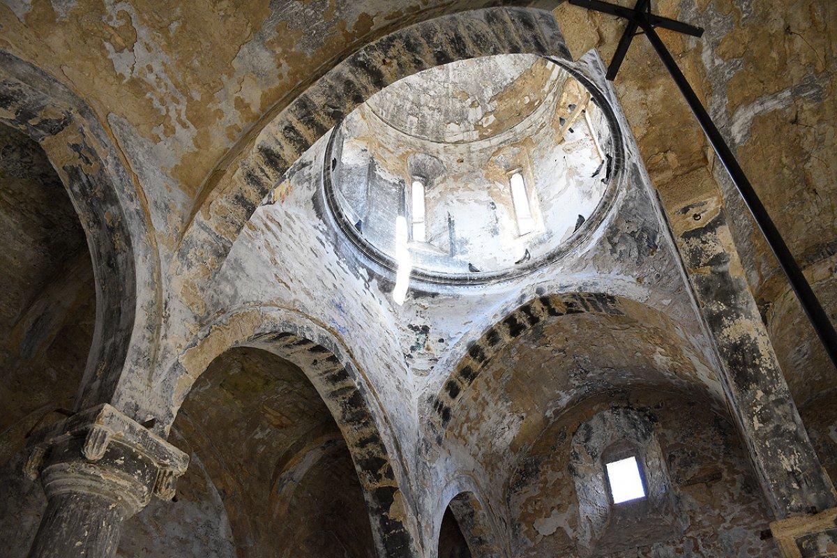 669 yıllık İmera Manastırı nda restorasyon #2