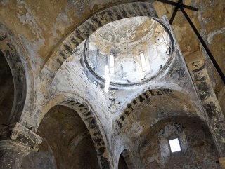669 yıllık İmera Manastırı'nda restorasyon