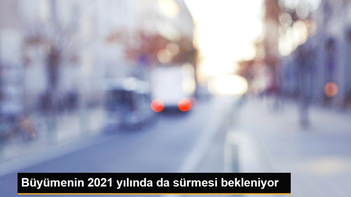 Büyümenin 2021 yılında da sürmesi bekleniyor