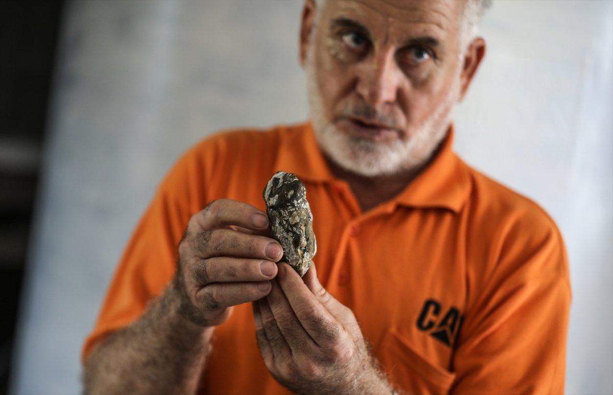 Gazze de topladığı taşlarla koleksiyon yaptı #4