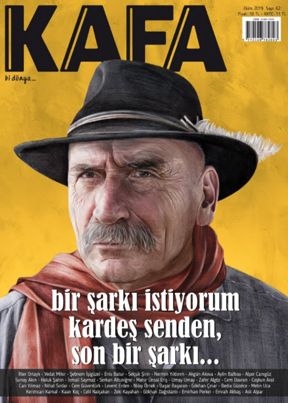 Kafa dergisinin ekim sayısı çıktı #2