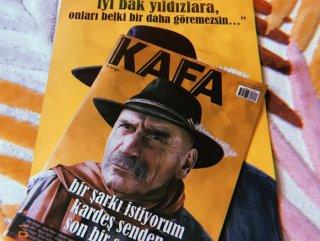 Kafa dergisinin ekim sayısı çıktı
