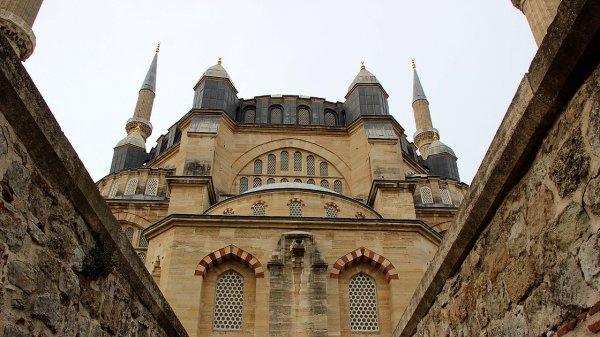 Selimiye Camisi nin restorasyonu, kapatılmadan yapılacak #1