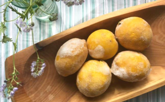Dondurulmuş limonun şaşırtıcı faydaları